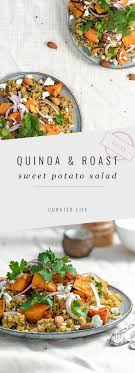 This not only explains the article title but is also an incredible riff on caucasian potato salad recipes. Quinoa And Sweet Potato Salad Gf Vegan Curated Life Studio