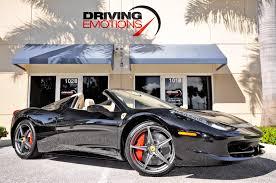 External color nero, internal color ro. 2014 Ferrari 458 Spider Stock 5626 For Sale Near Lake Park Fl Fl Ferrari Dealer