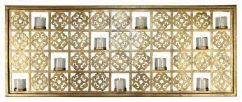 cutout gold wall 10 votive candle