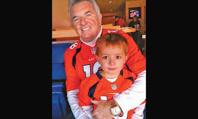 doug moreland seen with grandson will briggs sold his first car in 1969 he now owns all or part of 15 dealerships