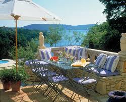 mediterranean outdoor furniture. Patio Decor Diy Mediterranean With Container Plants Furniture Waterfront Outdoor