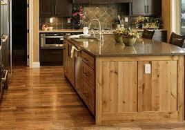 Simple Modern Rustic Kitchen Island Bar Stool Wooden Beams Ceiling