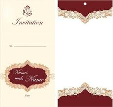Invitation Cards Template Free Download Free Download Invitation Card Template Etspace Info