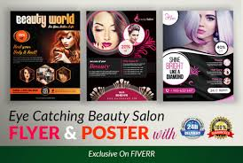 Design Awesome And Attractive Beauty Salon Flyer And Poster