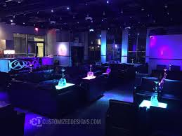 led furniture great for hookah lounges