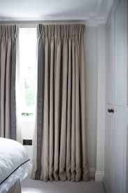 I like the subtle leading \u0026 bottom edge borders on these curtains ...