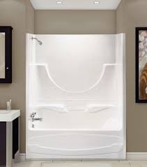 4 piece tub shower combo. figaro ii alcove or tub showers bathtub - advanta by maax 4 piece shower combo r