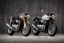 all new triumph thruxtons revealed mcn
