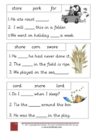 Phonetic quizzes as worksheets to print. Phonics The Or Sound Teaching Resources