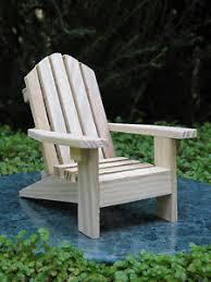 dollhouse outdoor furniture. Image Is Loading Miniature-Dollhouse-FAIRY-GARDEN-Furniture -Unfinished-Wood-Adirondack- Dollhouse Outdoor Furniture N