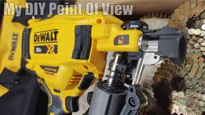 cordless coil roofing nailer kit