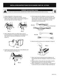 ice maker for whirlpool part 4317943 snap supply Automotive Wiring Diagrams at Search Ksre25fhbt00 Wiring Diagram