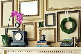 empty picture frame wall art