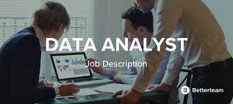 data analyst job description data analyst data warehouse analyst job description