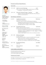 Curriculum Vitae Download | Malawi Research