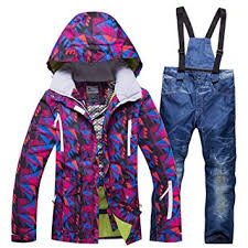 ZXGJHXF <b>New</b> Women <b>Ski Suit Ski Jacket</b> And <b>Ski Pant Outdoor</b> ...