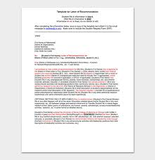 Scholarship Reference Recommendation Letter Sample Letters