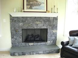 indoor fireplace designs stacked stone