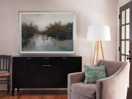 Living Room Artwork Forget Gallery Walls Big Art Is The Hottest Trend In Wall