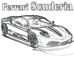 Ferrari Coloring Pages Free Jokingartcom Ferrari Coloring Pages