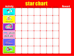 Hot Sell 2017 New 40 30cm Magnetic Star Reward Chart For