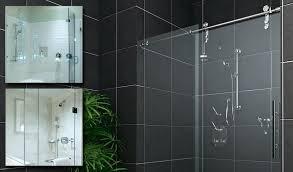 amazing frameless sliding shower door hardware sliding glass shower door bottom guide small bathroom ideas with