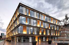 modern office architecture. Office Architecture Background Building Design Exterior Modern Side Of Stock Ilration Latest Designs In Commercial Buildings