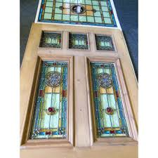stained glass panels for front doors stained glass front entry door with side panels glass front