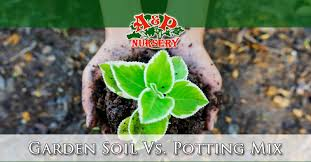 garden soil mix. Perfect Mix Garden Soil Vs Potting Mix Differences With N