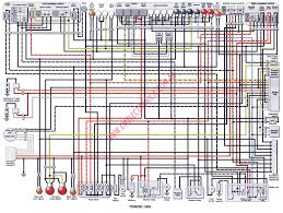 yamaha fz1 wiring diagrams yamaha automotive wiring diagrams yamaha tdm850 99