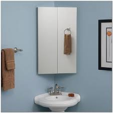 Corner Medicine Cabinet With Mirror And Lights Corner Bathroom Mirror Medicine Cabinet Cabinet Home