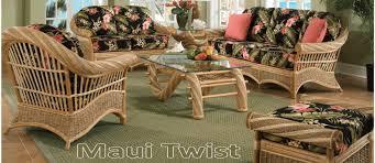 sunroom furniture set. Maui Twist Rattan Wicker Furniture Set Sunroom :