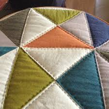 Broken Dishes Quilt: Update on Hand Quilting | Craft Takeover & hand quilting front Adamdwight.com