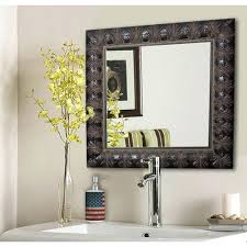 Wall Mirrors: Small Accent Wall Mirrors Accent Wall Mirror Sets Feathered  Accent Square Vanity Wall