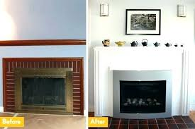 cost to convert wood fireplace to gas contemporary convert fireplace to wood stove convert wood fireplace