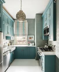 Wallpaper For Kitchen Wallpaper In Kitchen Blue Wallpaper Kitchen Teal Turqouise Decor
