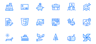 Two Tone Icons Free Geometric Ui Icons With A Fresh And Futuristic Twist 100 Icons
