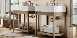 restoration hardware bathrooms. Weathered Oak Collection Restoration Hardware Bathrooms N