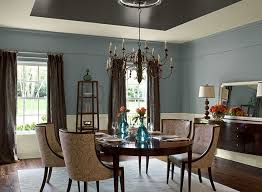 dining room decorating color ideas. a classic blue defines this elegant dining room. room decorating color ideas s