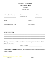Electrical Estimator Resumes Free Electrical Labour Quotation Quote Template Excel For