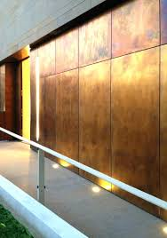 sheet metal wall covering corrugated acoustical panels siding metal sheet and panel for facade brass by sheet metal wall