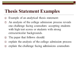 the structure of an essay ppt thesis statement examples