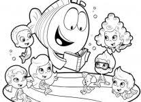 Small Picture Bubble Guppies Coloring Coloring Free Coloring Pages