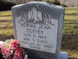 Norma Jean Lee Coffey (1959-2000) - Find A Grave Memorial