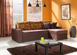 wall paint for brown furniture. Sensational Idea Orange Living Room Simple Decoration With Wall Paint And Brown Sofa Set Accessories Ideas For Furniture N