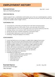 Resume Template For Truck Driving Job Resume For Your Job