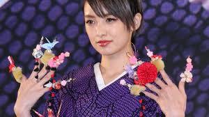 南明奈ド派手ネイルを披露日本をテーマにネイルクイーン2015 Akina Minami Event