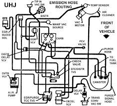 Vacuum hose diagram wiring diagram key fob schematic chevrolet engine schematics