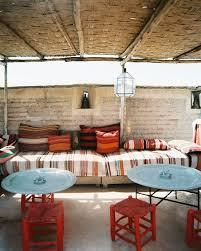 outdoor moroccan furniture. Mid Century Outdoor Space Garrett-eckbo Moroccan Furniture