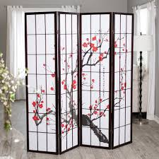 Small Picture Have to have it Cherry Blossom Rosewood 4 Panel Room Divider